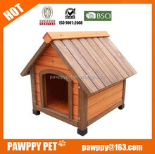 Factory best selling wooden dog house, wooden dog kennel, wooden pet house