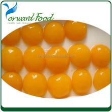 83 organic cheap fresh syrup canned yellow peach