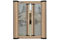 2015 hot sell aluminum windows with mosquito net/cheap sliding window