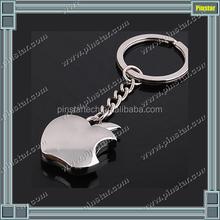 Hot Sale New Fashion Imitation Fruits Keychain Zinc Alloy Car Key Chain for Keys