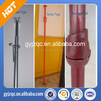 Adjustable steel prop/shoring in China / light duty for sale China Manufacturer