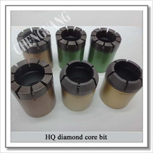 impregnated diamond core bit