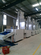 Wastage cloth textiles crushing machine for padding making