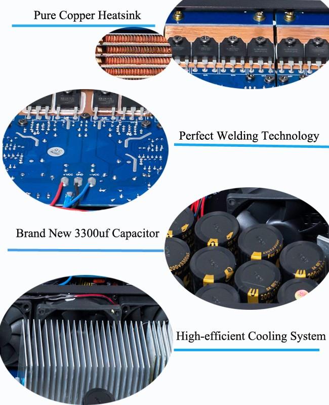 fp10000q 110V 또는 220V 전문적인 오디오 전력 증폭기