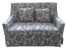 Italian style retro design queen size sofa european chesterfield fabric sofa