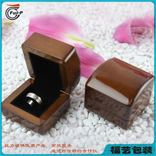 Wholesale High End design custom wooden wedding ring box