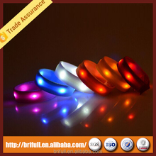 fast delivery remote control led bracelet top quality