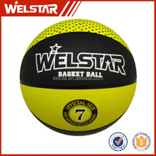 Promotional rubber basketballs for training and play