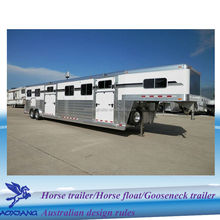 Gooseneck caravan trailer, caravan trailer