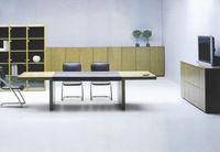 newest wooden classical modern office furniture veneer series customized conference table design