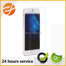 "Hot selling high quality 9H 2.5D full size 100% Genuine tempered glass screen protector for iphone6 4.7""and 5.5"""