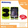 With stand combo design tablet cases for ipad mini