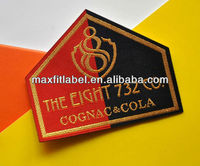 China factory directly customized woven patches for clothes
