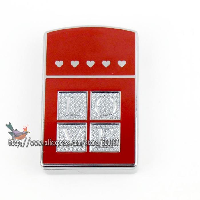 ถูก รักการออกแบบ(เพื่อคนรักของคุณ)แบบชาร์จลมFlamelessซิการ์บุหรี่โลหะไฟฟ้าUSB G Adgetของขวัญเบา