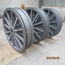 CNG Compressor spare part piston whole aluminum casting piston
