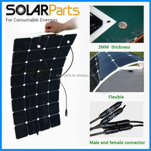 High Efficiency Flexible Solar Panel 100W USA Sun power Solar Cell