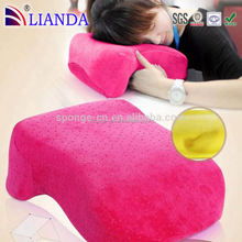 2015 hot sale decorative home/school neck pillow hot sale nap pillows