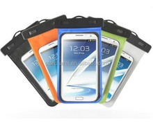 New design universal waterproof cell phone case,pvc mobile case