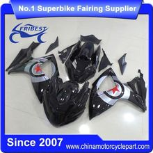 FFKSU004 Fairing Kit For Motorcycle For Suzuki GSXR750 GSXR600 2006 2007 Gloss Black With Star Race