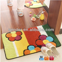 2014 New Design Bathroom Water Absorption Folding Foam Beach Mat
