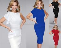 2016 Plus XXXXL XXXXXL SIZE Hot design women summer dress elegant Bodycon evening pencil dresses