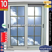 AS 2047 Aluminum Glass Sliding Window with Mosquito Mesh