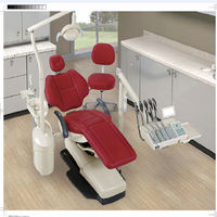 Professional supplies different colors foldable electric dental chair