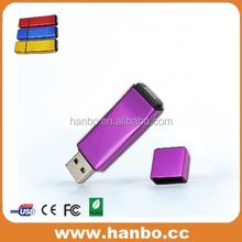 free sample laser logo simple model 8gb plastic usb disk