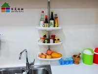 JYXF 3-tier kitchen cabinet organizerkitchen utensil storage JYC-030A