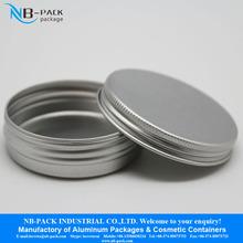 10g aluminum jar, 10ml sample sized aluminum container