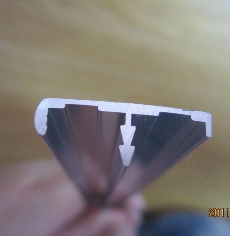 T de aluminio perfil de cantos para mueble cocina-Perfiles de ...