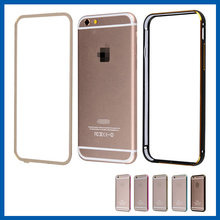 C&T Two in One Cover Aluminum Metal Bumper Detachable Clear Back Protective Cases for Apple iPhone 6
