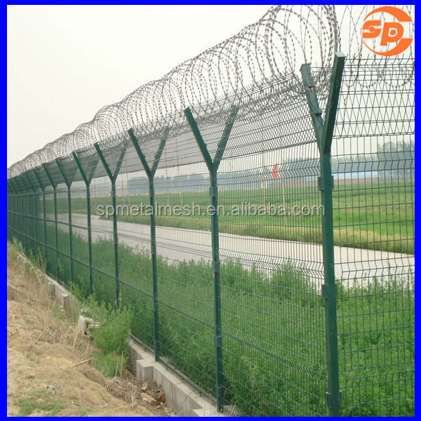 Barbed wire prison fence buy sharp blade razor barbed wire barbed