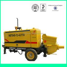 Nuovo prodotto 2014 hbts40- 13- 4j110 diesel pompa per calcestruzzo