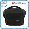 Chinese waterproof black nylon digital shoulder camera bag