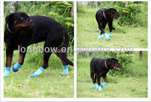 Promotion Xiboer dog anti-slip shoes pet boots with patent pet product