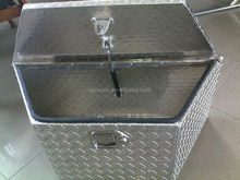Single Lid Aluminum Crossover Truck Tool Boxes