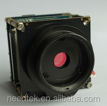 Industrial professional security cctv video camera module with ambarella sdk ir cut wifi micro sd onvif h.264 support