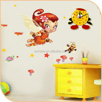 1-3mm Eco-friednly Best quality low price colorful safety acrylic wall clock for kids