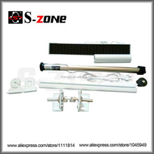 Remote Control Rolling Door Shade Battery Motor With Recharged Solar Panel Automatic Blind System