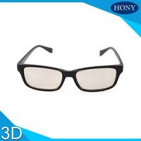 PC Plastic Frame passive circular polarized cinema 3D Glasses