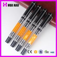 Exquisite design heavy metal gift pens office stationary metal roller pen with cap