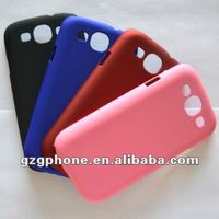 color paint mobile phone case for Samsung Galaxy s3 I9300 case with rubberized oil