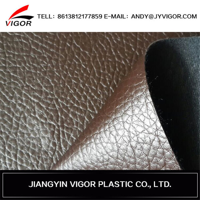 Durable artificial best selling leather upholstery