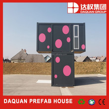 Wuhan daquan brand Mobile container office, living container house with CE,ISO