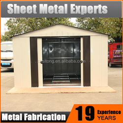 Quality China Exporter Metal Steel Structure Prefab Shed Garden Storage House