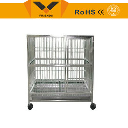 Dog cage with wheels dog carrier cage dog transport cage