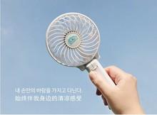 Rechargeable mini handy fan with battery, portable USB mini fan
