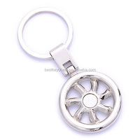 promotion keyring custom hot sales carriage wheel keychain