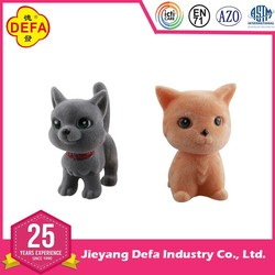 High quality low price lovely plush pet doll toy plush dog pet plush cat pet for wholesale